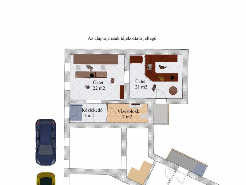 Szeged Eladó Üzlethelyiség Vám tér